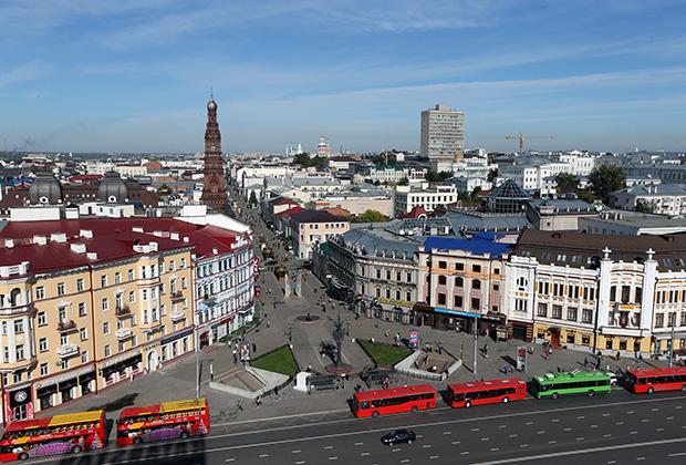 Центр Казани очень похож на Петербург