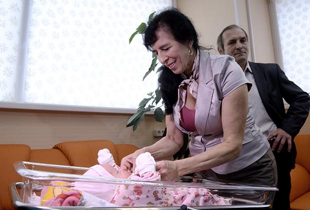 Галина Шубенина cо своей дочерью Клеопатрой