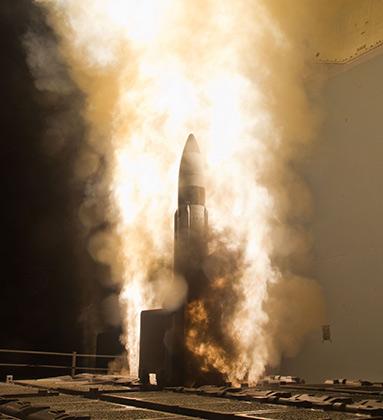 Испытания противоракеты Standard SM-3 Block IA, февраль 2013 года