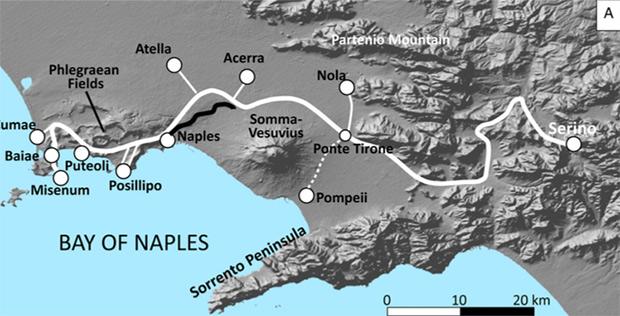 Карта водопровода Аква Августа