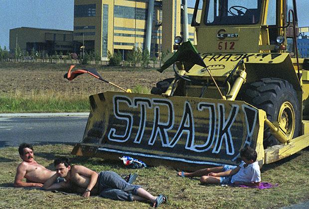 Забастовка польских шахтеров, август 1992 года