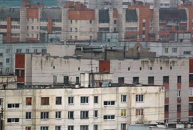 Москва. Спальный район