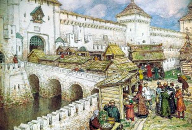 Москва XVIII века