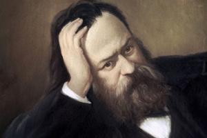 Фрагмент картины «А.И. Герцен» художника С.П. Скульского