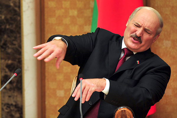 Лукашенко про педиков