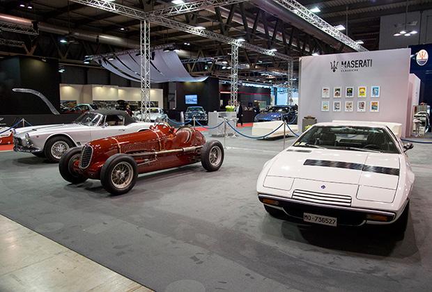 Maserati 3500GT, Tipo 6M и Khamsin на выставке Milano AutoClassica