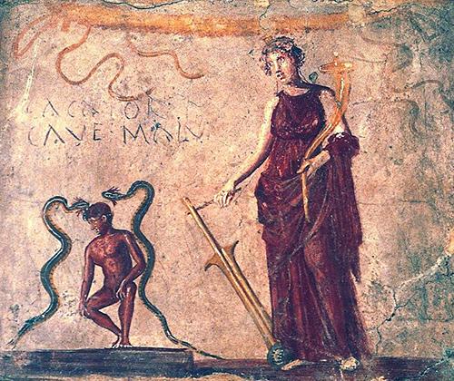 Римская богиня Фортуна, по мнению древних римлян, охраняла посетителей туалета от опасности
