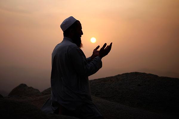 Мусульманин в Мекке
