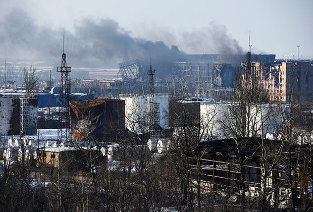 Украинских солдат, участвовавших в боях за донецкий аэропорт, назвали «киборгами»