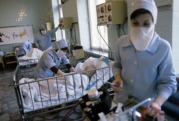 Детская клиническая больница № 13. 1981 год