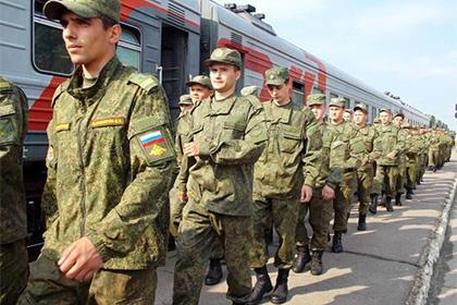 Прибытие военнослужащих 28-й бригады в Клинцы