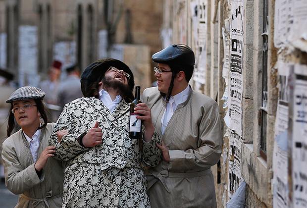 Смотреть секс ортодоксальных евреев
