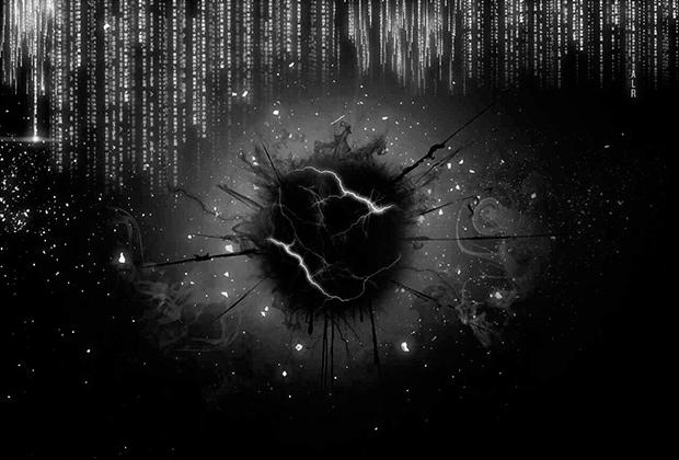 Рисунок, по мнению нетсталкеров описывающий сущность мистических явлений в сети