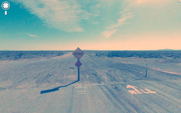 Одна из фотографий из проекта «Девять глаз Google Street View»