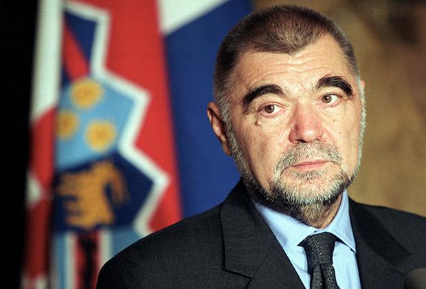 Стипе (Степан) Месич, президент Хорватии с 2000 по 2010 год