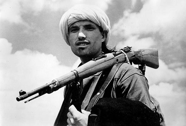 Нацистская пропаганда: мусульманин-доброволец на службе вермахта, июль 1944 года