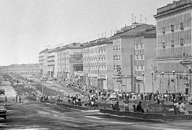 Норильск, 1967 год