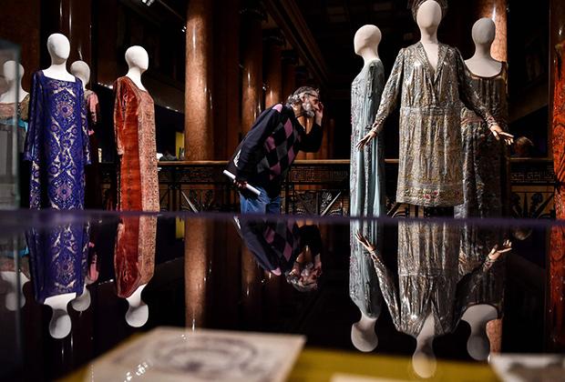 Костюмы с выставки «Лев Бакст: открытие материи» (Москва, 2013)