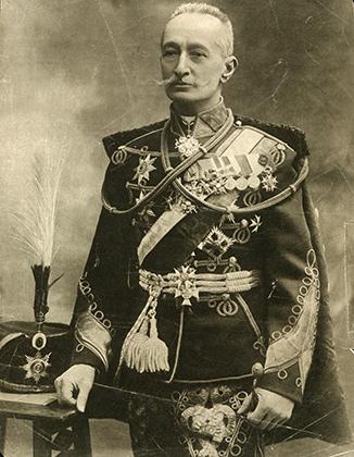 Генерал А.А. Брусилов (русская открытка)