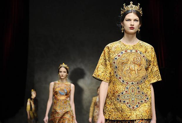 «Византийская» коллекция Dolce & Gabbana (осень-зима 2013-2014)