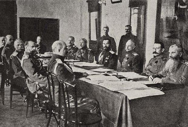 Военный совет в Ставке. 1 апреля 1916 года