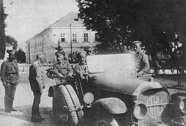 А.А. Брусилов и Великий князь Георгий Михайлович