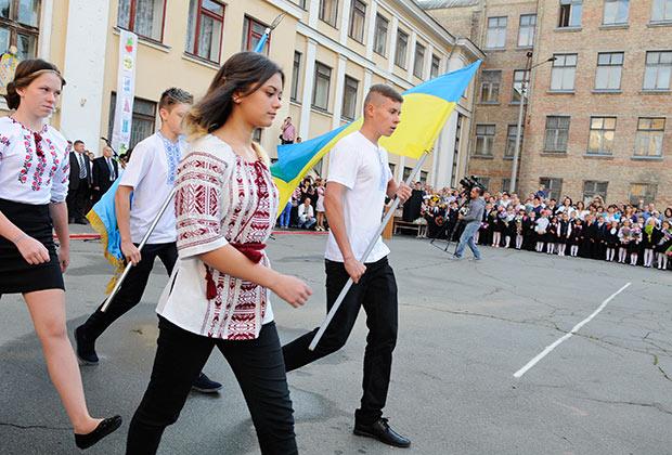 Украинским школьникам рассказывали о России — «тюрьме народов»