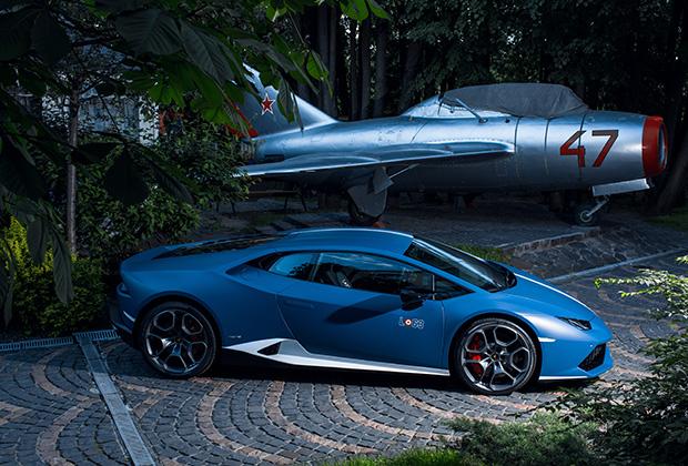 Москвичам показали эксклюзивный Lamborghini