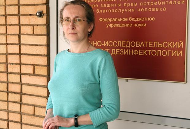 Старший научный сотрудник НИИ дезинфектологии Роспотребнадзора Ольга Германт