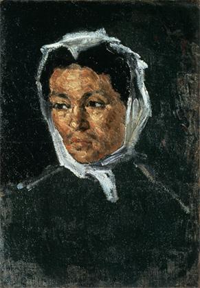 Портрет матери художника. 1869–1870