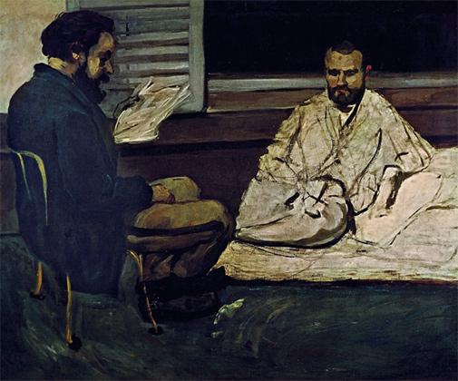 Поль Алексис читает Эмилю Золя. 1869–1870