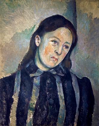 Мадам Сезанн с распущенными волосами. 1890–1892
