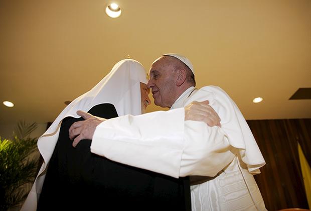 Встреча Папы Римского Франциска и Патриарха Московского и всея Руси Кирилла. 12 февраля 2016 года