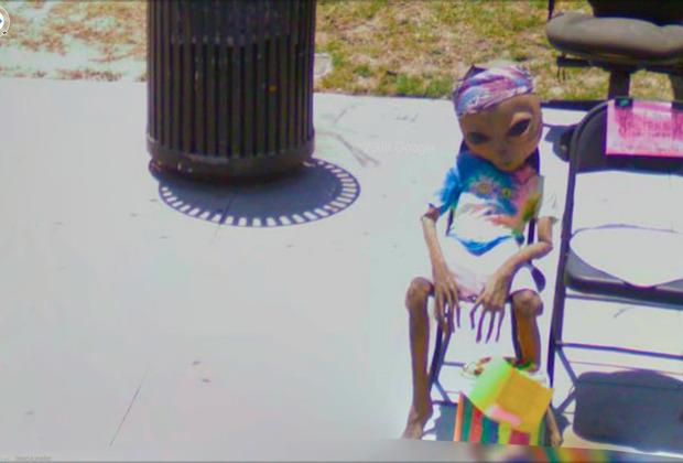 Одна из работ Джона Рафмана, автора проекта «Девять глаз Google Street view»