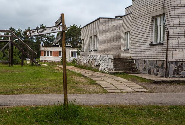Один из корпусов детского лагеря «Парк-отель Сямозеро» в Карелии