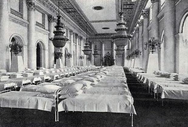 Госпитальные палаты в Зимнем дворце