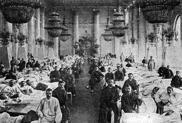 Военный госпиталь в Зимнем дворце