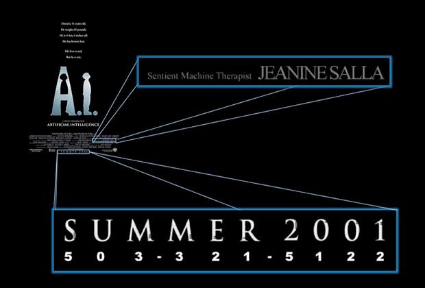 Подсказки, скрытые в постере фильма «Искусственный разум»