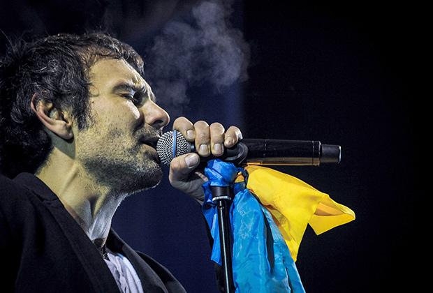 Вакарчук поет для Евромайдана в Киеве