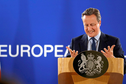 Britain's Prime Minister Cameron addresses a news conference after the EU Summit in Brussels, Belgium, June 28, 2016. REUTERS/Phil Noble