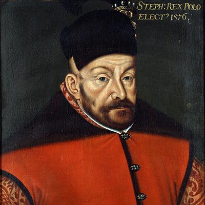 Портрет Стефана Батория, автор неизвестен. 1576 год