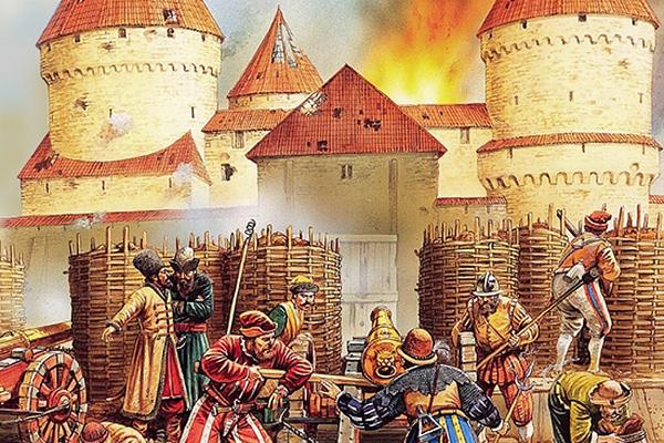 Осада Вендена в 1577 году