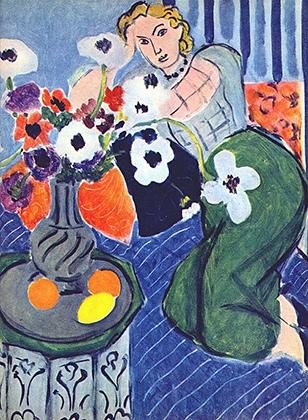 Анри Матисс, «Одалиска. Голубая гармония», 1937 год