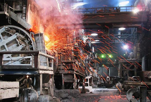 27 июня 2016 года. Норильск. Никелевый завод. Плавильный цех