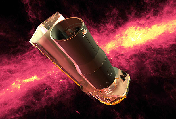 Инфракрасный телескоп «Спитцер»