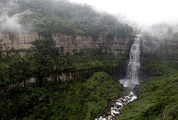 Водопад Теквендама