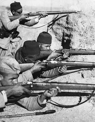 Мусульманские войска около Навальканеро (октябрь 1936 года)