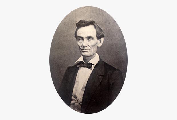 Авраам Линкольн до появления бороды
