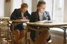 Помимо учебных классов, у каждой воспитанницы в общежитии есть компьютеризированное учебное место с выходом в интернет.