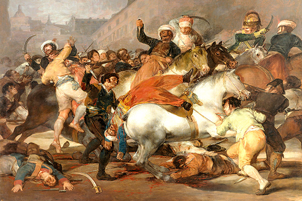 The Second of May 1808: The Charge of the Mamluks by Francisco de Goya (1814)